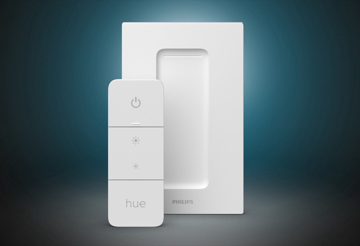 New Philips Hue Dimmer Switch Product Shot Dark