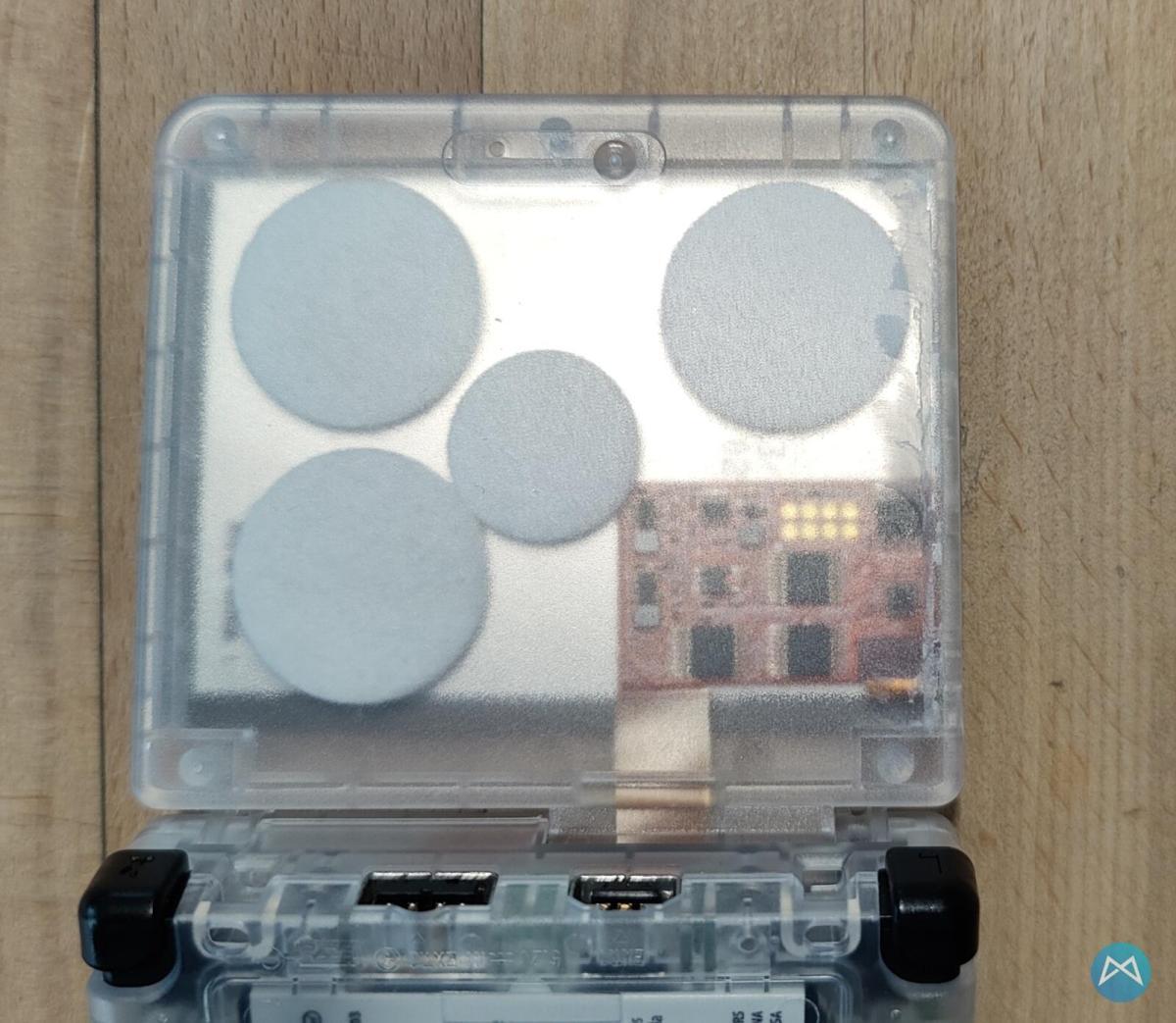 Nintendo Gameboy Advance Sp Display Und Case Umbau (3)