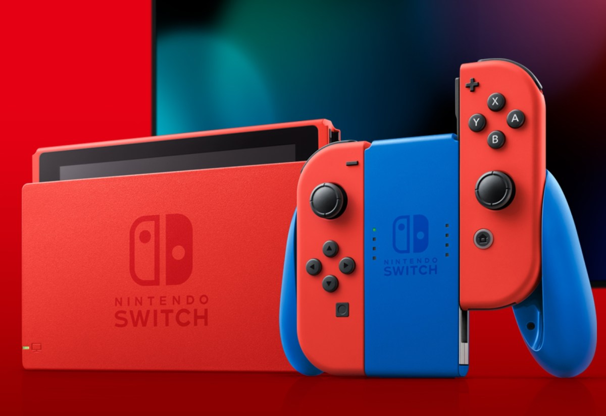 Nintendo Switch Mario Header