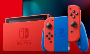Nintendo Switch Mario Header