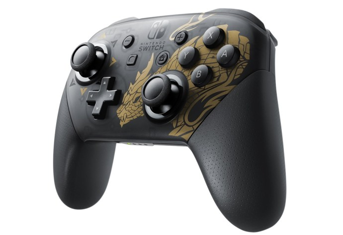 Nintendo Switch Pro Controller Monster Hunter