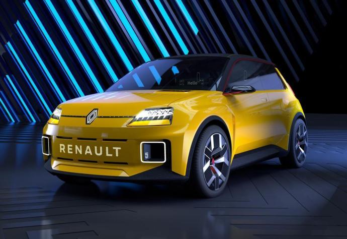 Renault 5 Prototyp Header