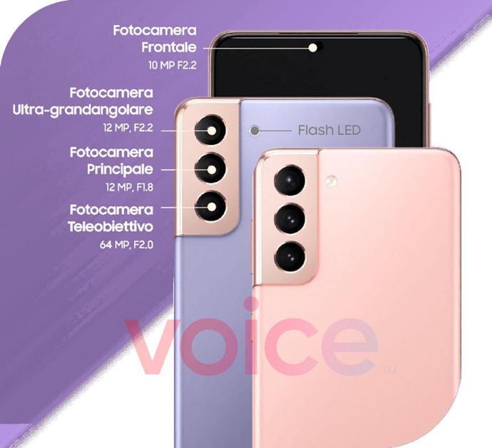Samsung Galaxy S21 Kamera Leak