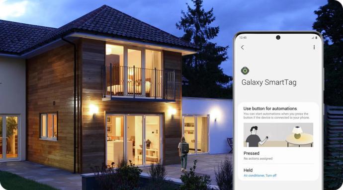 Samsung Galaxy Smarttag Smart Home