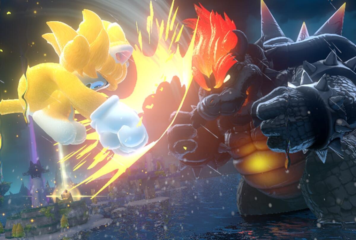 Super Mario 3d World Bowser Kampf
