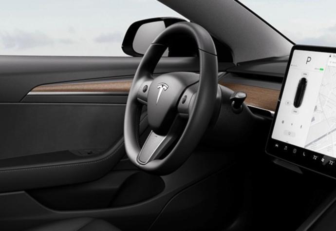 Tesla Model 3 Lenkrad Neu Beheizt