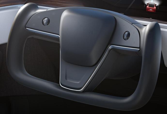 Tesla Model S 2021 Lenkrad
