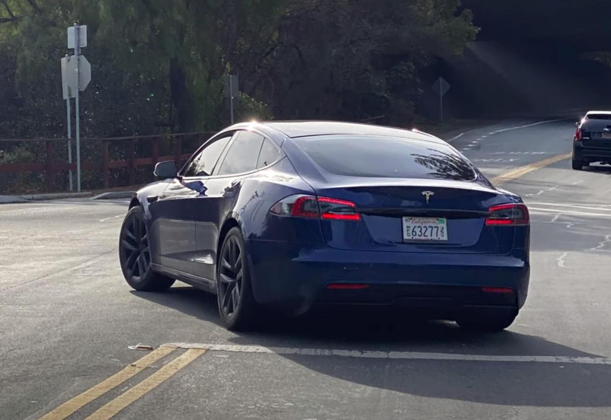 Tesla Model S 2021 Proto