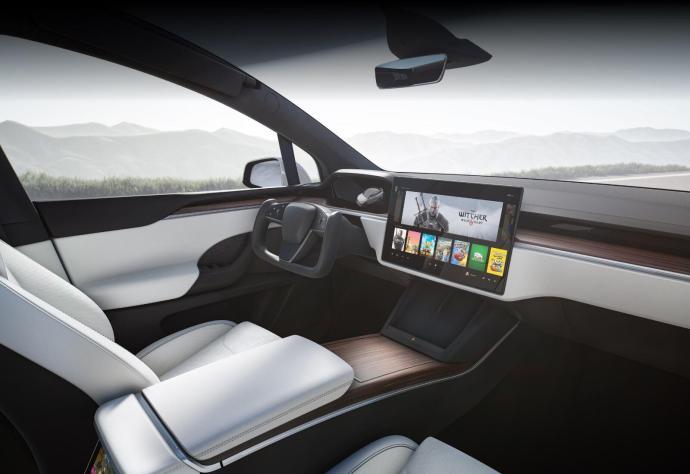 Tesla Model X 2021 Interior