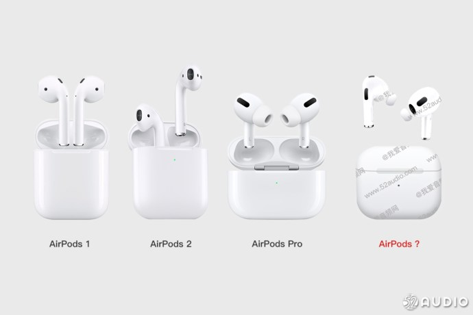 Airpods 3 Leak Vergleich