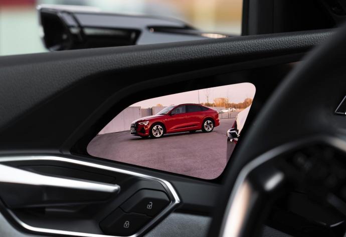 Audi Etron Display