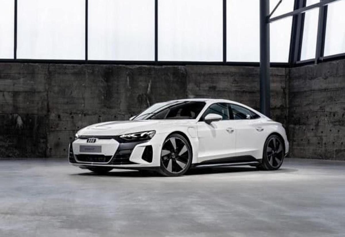Audi Etron Gt Leak Front