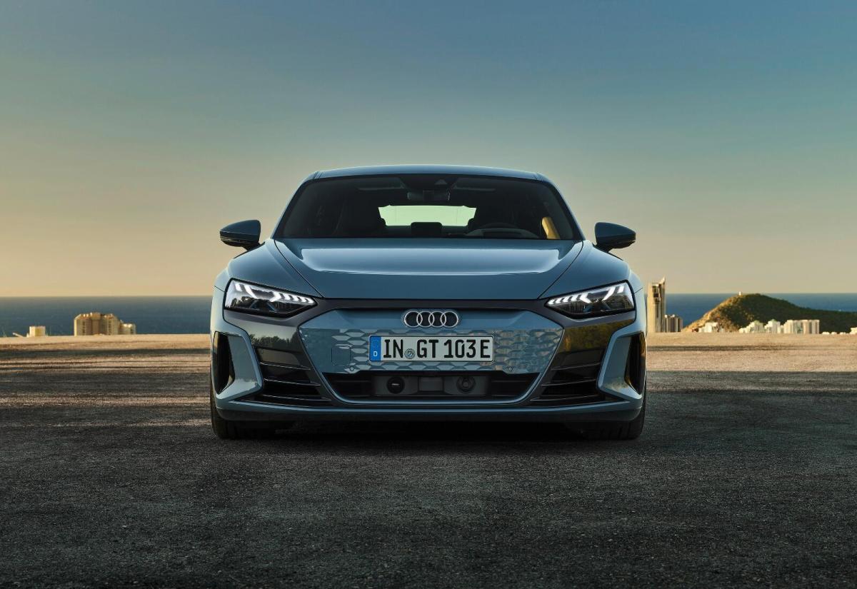 Audi e-tron GT startet in den Verkauf