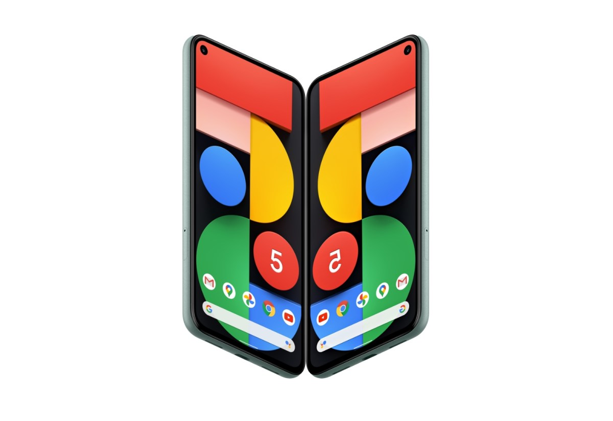 Google Pixel Fold Mockup