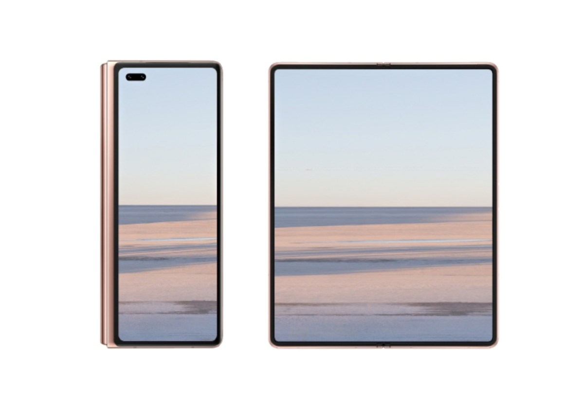 Huawei Mate X2 Mockup