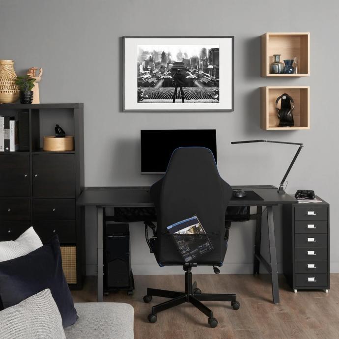 Ikea Gamer Schreibtisch