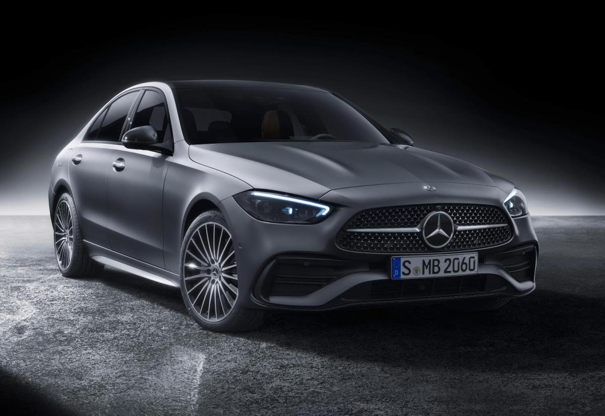 Mercedes Benz C Klasse Front