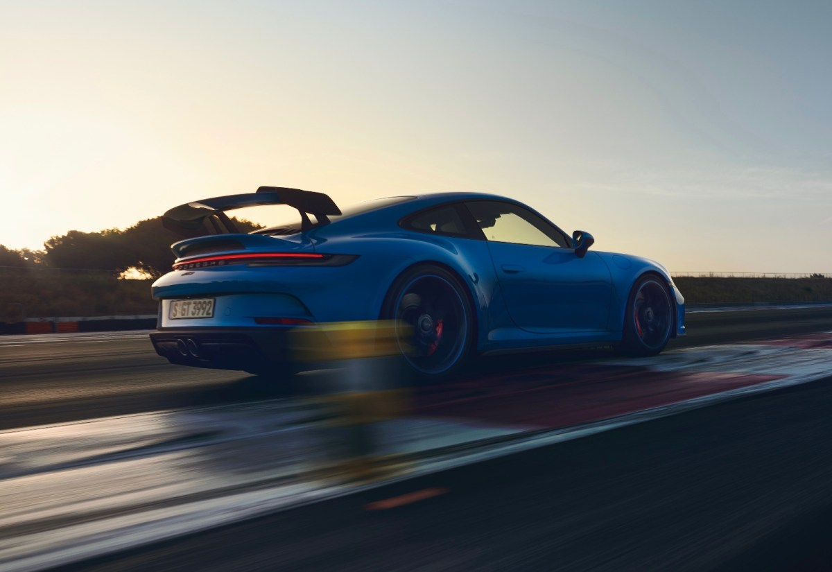 Porsche 911 Gt3 Header