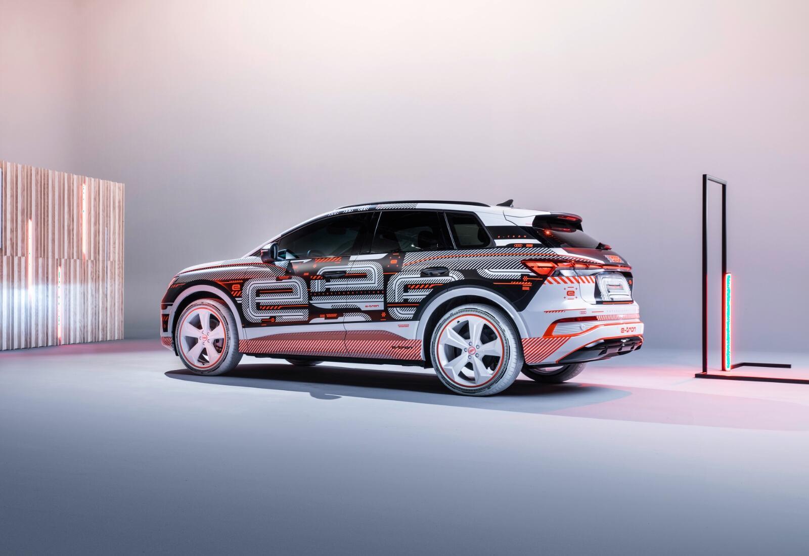 Audi Q4 Etron Folie Back