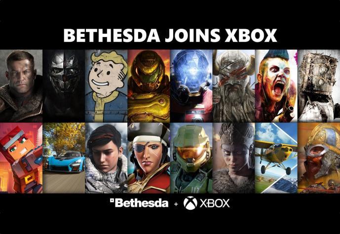 Bethesda Xbox Header