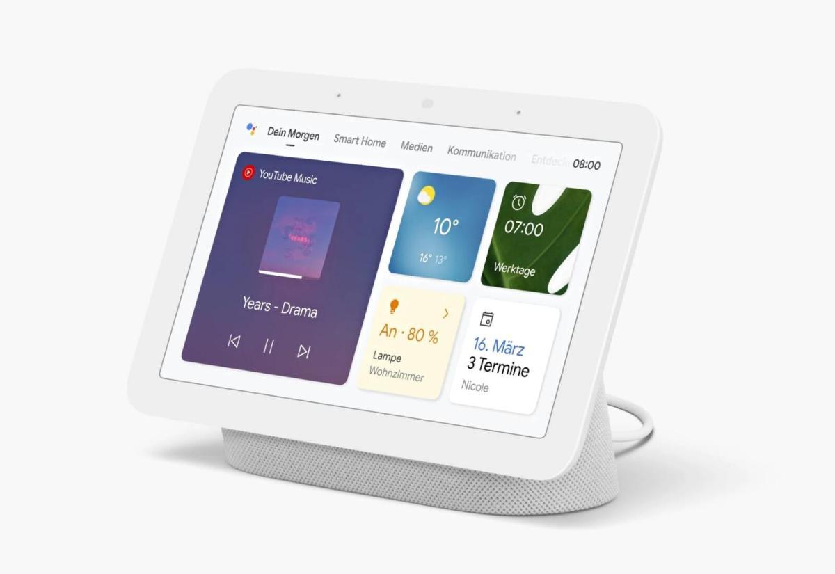 Google Nest Hub 2 Header