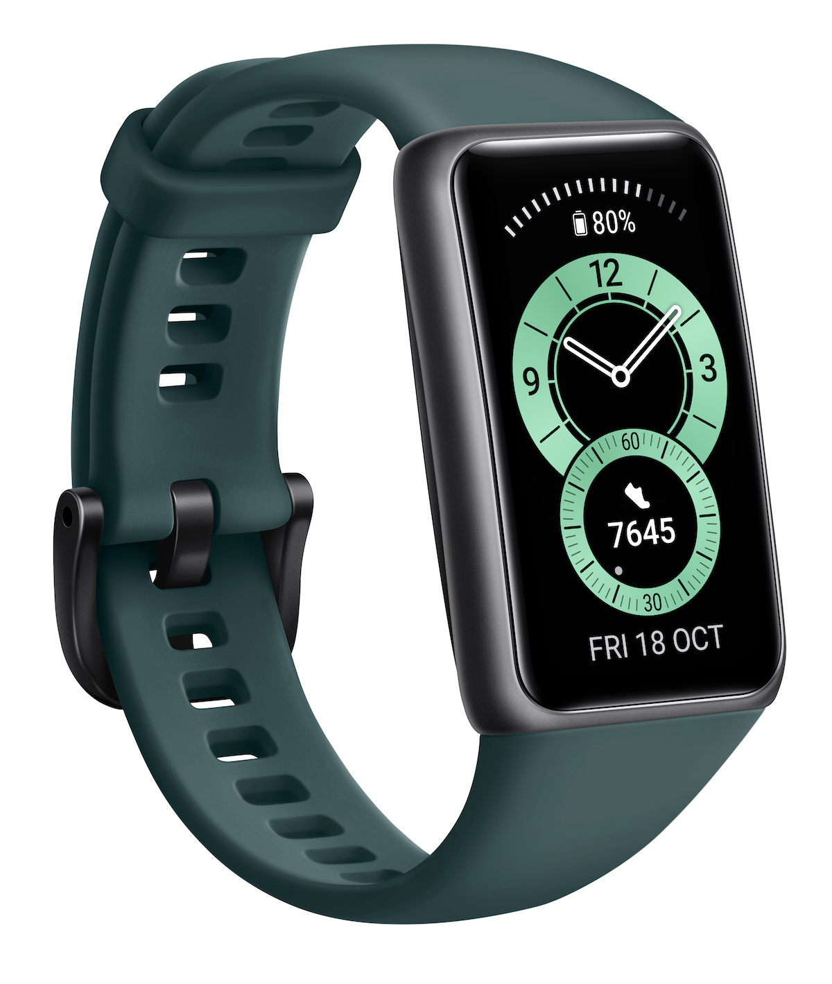 Huawei Band 6 Forest Green (2)