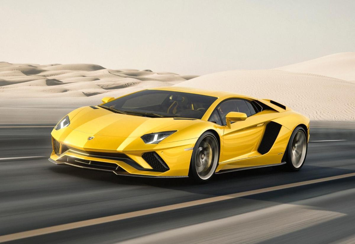 Lamborghini Header