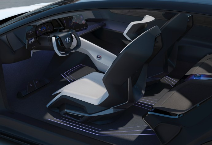 Lexus Lfz Inside
