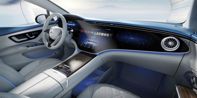 Mercedes Eq, Der Neue Eqs, Interieur Design Mercedes Eq, The New Eqs, Interior Design