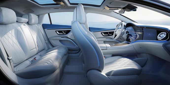 Mercedes Benz Eqs Innenraum