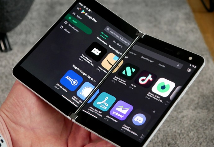 Microsoft Surface Duo Play Store