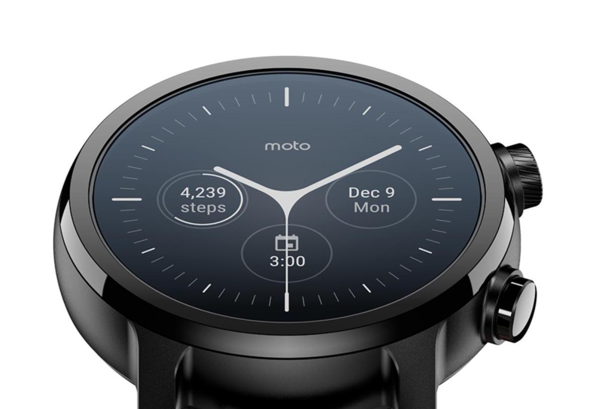 Moto Watch 100: Neue Smartwatch steht in den Startlöchern