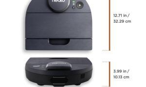 Neato D8 Size