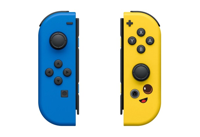 Nintendo Switch Joy Con Fortnite Front