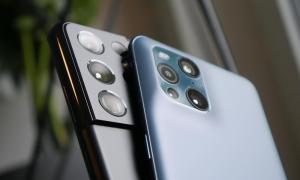 Samsung Galaxy S21 Ultra Oppo Find X3 Pro Header