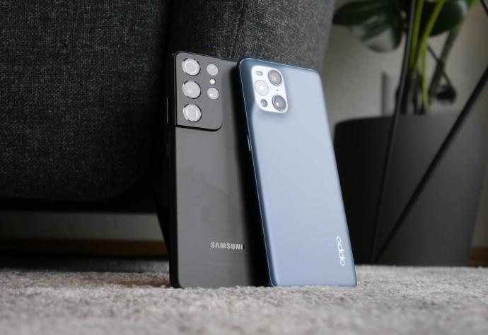 Samsung Galaxy S21 Ultra Oppo Find X3 Pro Vergleich