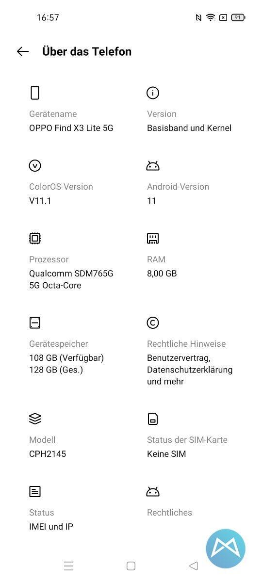 Screenshot Oppo Find X3 Lite (2)