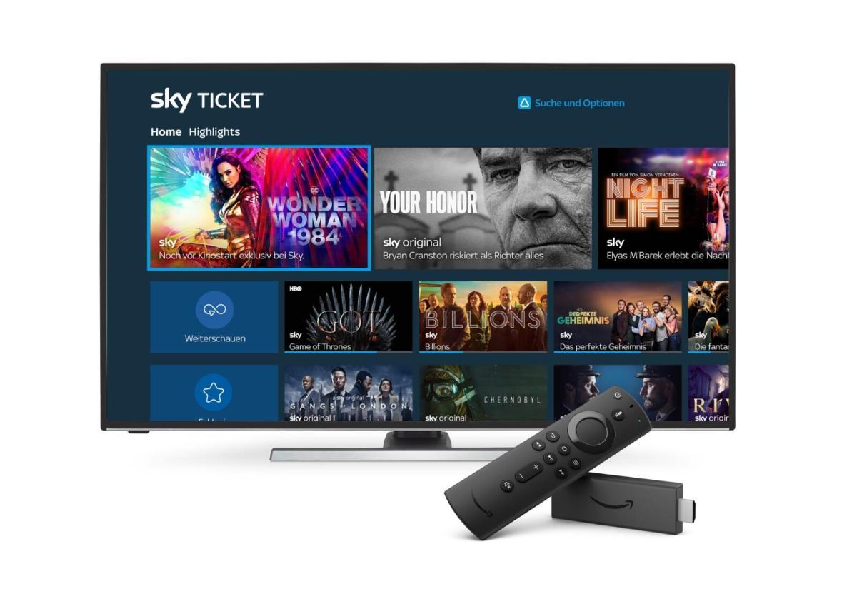 Sky Ticket Amazon Fire Tv