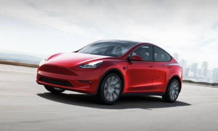 Tesla Model Y 2021 Header