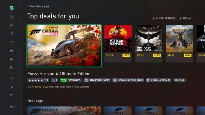 Xbox Store Spiel Sprachen