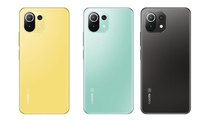Xiaomi Mi 11 Lite 5g Farben