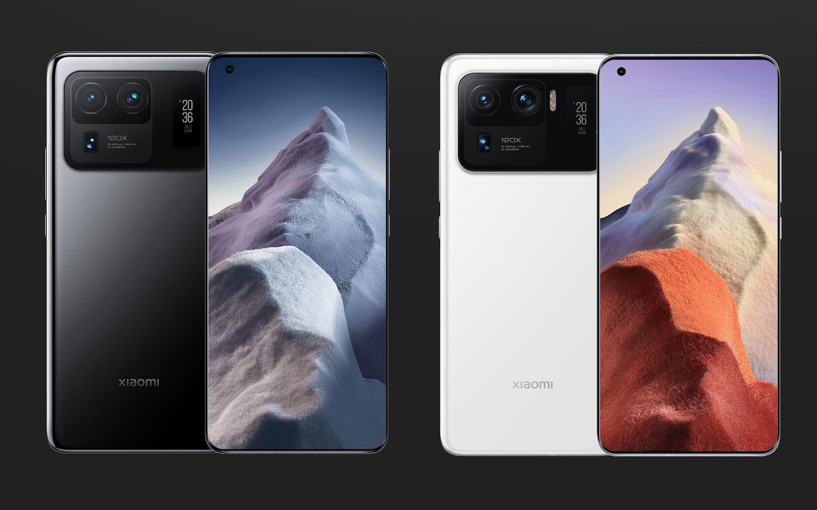 Xiaomi Mi 11 Ultra Farben