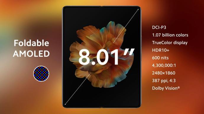 Xiaomi Mi Mix Fold Display
