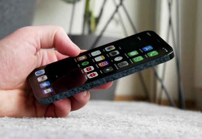 Apple Iphone 12 Pro Smartphone Hand Header