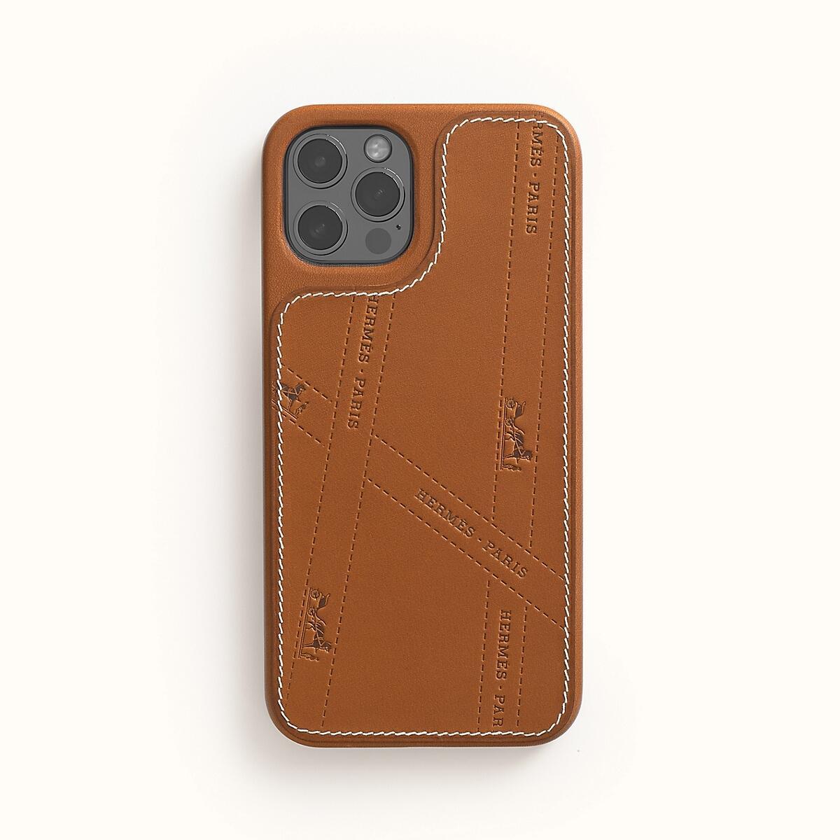 Apple Iphone Hermes Magsafe Case Braun