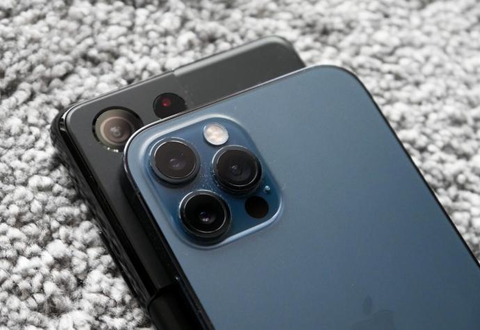 Apple Iphone Samsung Galaxy Kamera Header