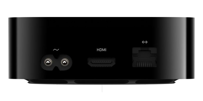 Apple Tv 4k 2021 Ports