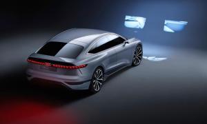 Audi A6 Etron Konzept Led Leuchten