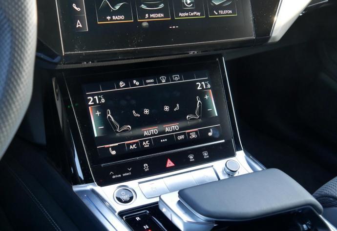 Audi Etron 2021 Display