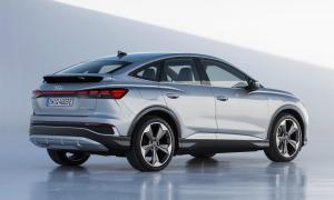 Audi Q4 Sportback Etron Back
